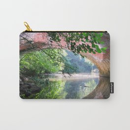 Old Bridge Water Reflection Carry-All Pouch