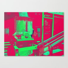 Factory Red Canvas Print