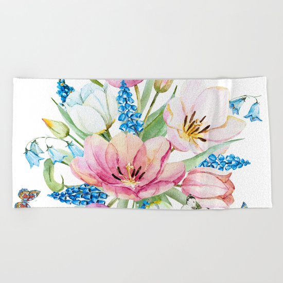 Spring is in the air #35 Beach Towel