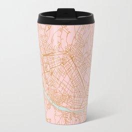 Firenze map Travel Mug
