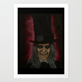 The Caretaker Art Print