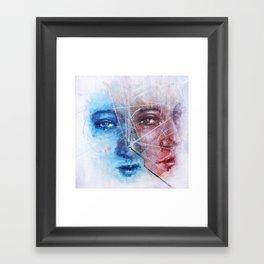 Something Unsaid Framed Art Print
