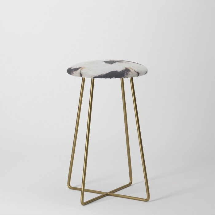 Ink and coffee Counter Stool