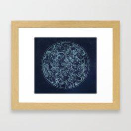Vintage Constellation & Astrological Signs Framed Art Print