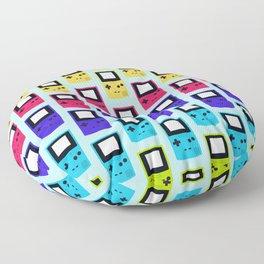 Rainbow Nostalgia Floor Pillow