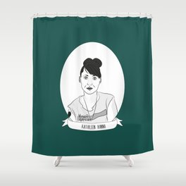 Kathleen Hanna Shower Curtain