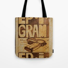Epigram Tote Bag
