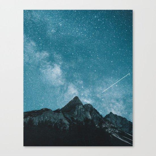 Blue Mountains Blue Sky - Landscape Photography Canvas Print