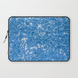 Poolside / Photo of sparkling blue water in bright sunlight Laptop Sleeve