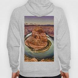 Horseshoe Bend Grand Canyon Arizona Hoody