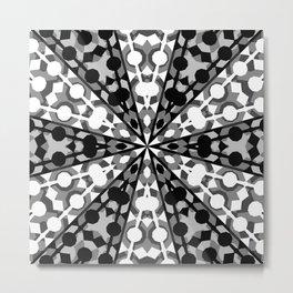 Tribal Arrow Pattern Metal Print