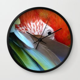 Feathered Friends II Wall Clock
