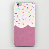 sprinkles iPhone & iPod Skins featuring Sprinkles by Glanoramay