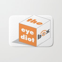 the idiot box Bath Mat