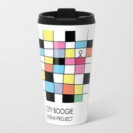 CITY BOOGIE  by ISHISHA PROJECT Travel Mug