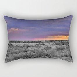 The Duality of the Desert  Rectangular Pillow