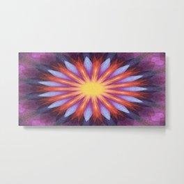 Flowernova Metal Print