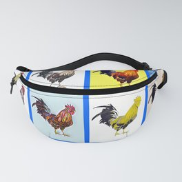 Poppy Cock Fanny Pack