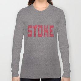 Stoke City 2017-2018 Long Sleeve T-shirt