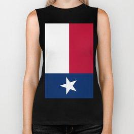 Texas Flag Lone Star Flag Biker Tank