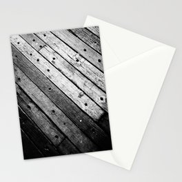 Wooden Lines Stationery Cards