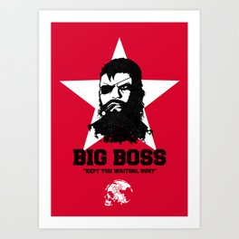 Big Boss Art Print