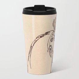 Ornamental Hen Travel Mug