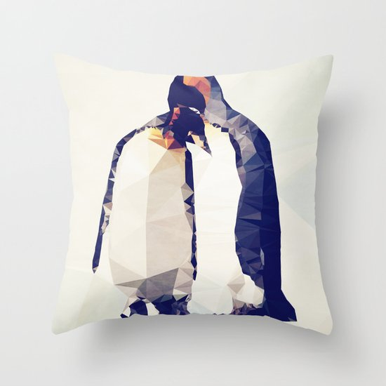 Emperor Romance Throw Pillow