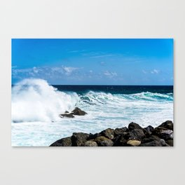 Trade Wind Waves Canvas Print