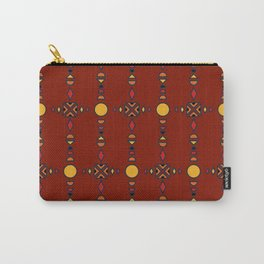 African Tradition Seamless Pattern Carry-All Pouch