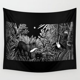 Welcome to the Jungle Wall Tapestry