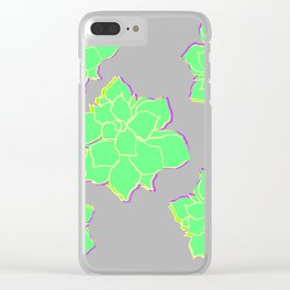 Tipsy Topsy Clear iPhone Case
