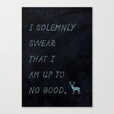 I Solemnly Swear Canvas Print