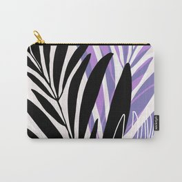 Lavender Olive Branches / Contemporary House Plant Drawing Carry-All Pouch