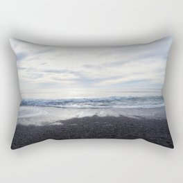 Rodeo Beach with Killer Clouds Rectangular Pillow