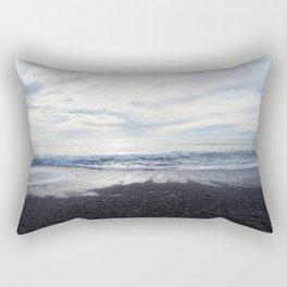 Rodeo Beach with Killer Clouds Rectangular Pillow