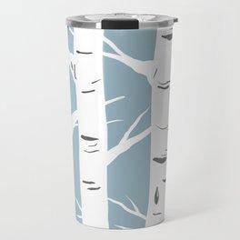 Blue Birches Travel Mug