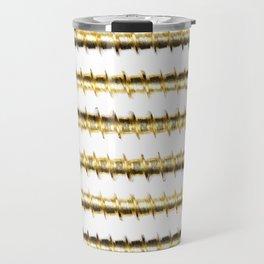 Golden Screws Poster Travel Mug