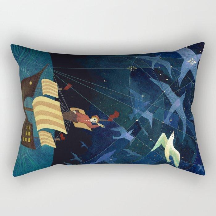 Wanderers Rectangular Pillow