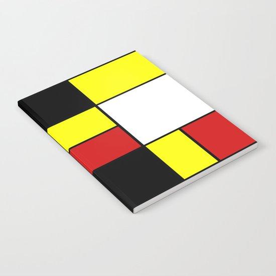 Abstract #378 Mondriaan Notebook