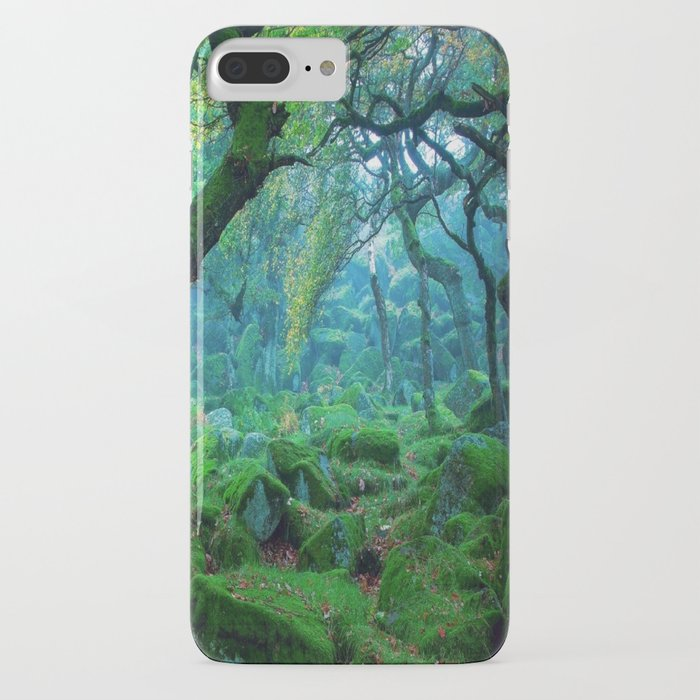 enchanted forest mood iphone case