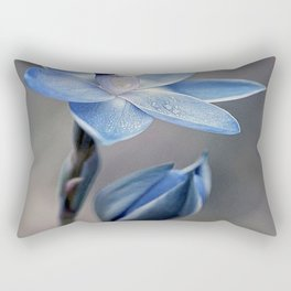 BLUE ORCHID Rectangular Pillow