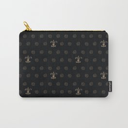 Royal Curly Pattern Carry-All Pouch