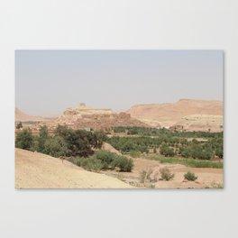 Ait-Ben-Haddou, in Ouarzazate province Canvas Print