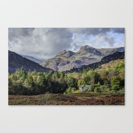 The Langdale Pikes Canvas Print