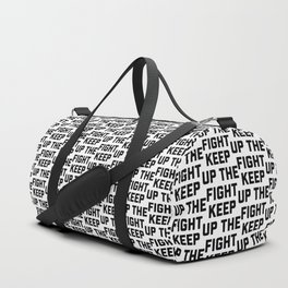 keep up the fight Duffle Bag