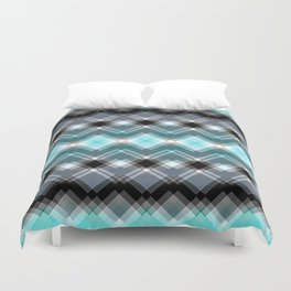 chequered dreams Duvet Cover