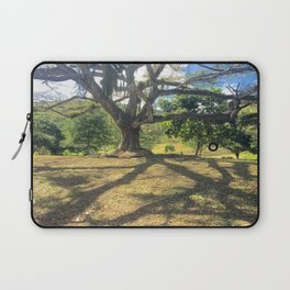 Tire Swing in a Tropical Place Laptop Sleeve