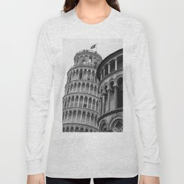 Leaning Tower of Pisa (2) Long Sleeve T-shirt