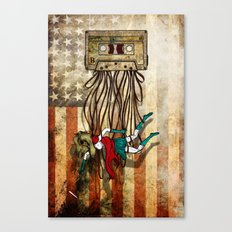 Where love went to die or american woman Canvas Print